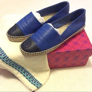🌺 Tory Burch Leather Espadrilles 🌺